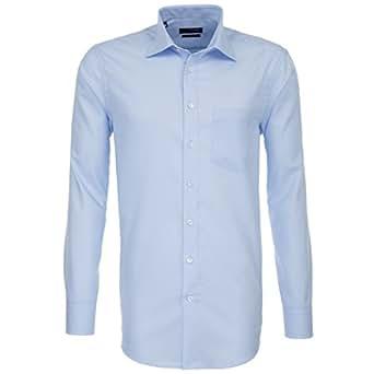Seidensticker Herren Hemd Regular Fit Splendesto 1/1-Arm Bügelfrei 01.001000