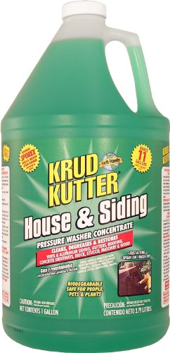 Great Deal! Krud Kutter HS01 Green Pressure Washer Concentrate House and Siding Cleaner with Mild Od...
