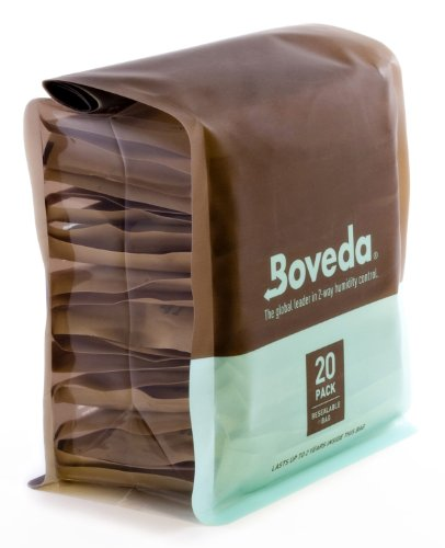 Boveda B84-60-20P 20-Pack Humidifier, 60gm