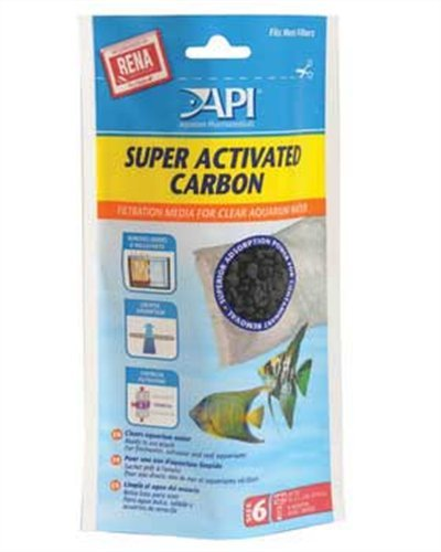 API Super Activated Carbon Pouch Size 6 (Super Activated Carbon Filter compare prices)