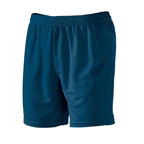 Pantaloncini Corti Uomo Bermuda Per Sport Calcetto e Calcio Macron Team Shorts , Colore: Navy, Taglia: M