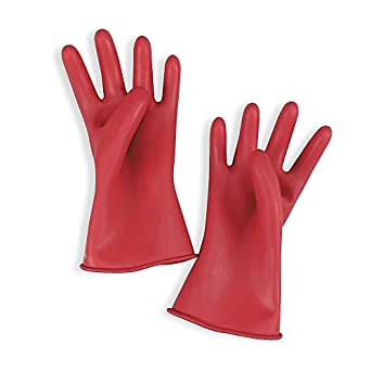 Electrical Gloves, Red, Size 9, 11 In. L, Pair