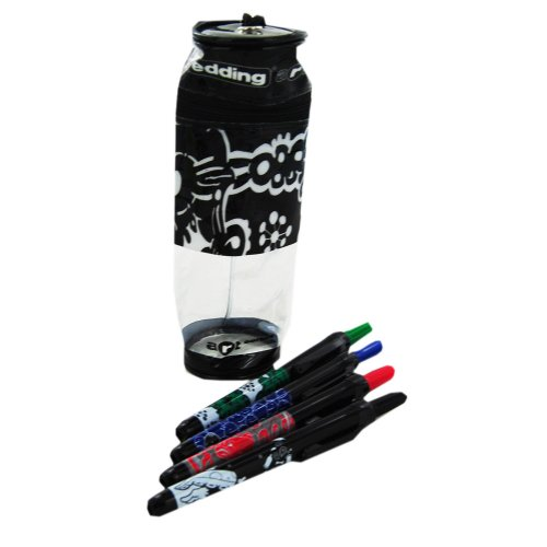 Graffiti Art Pencil Case – Edding Art Series (4 Markers)