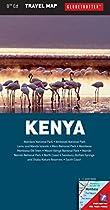 Kenya Travel Map (Globetrotter Travel Map)