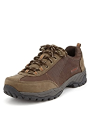 Blue Harbour Leather Walker Shoes with Stormwear™