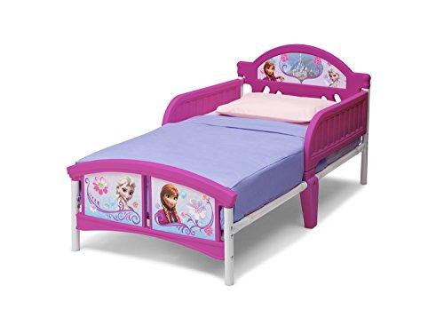 Delta Children Lit junior avec tete de lit 3D Princess Sofia