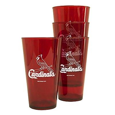 MLB St. Louis Cardinals Mascot Souvenir Cups (4-Pack), 20-Ounce