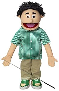 ''Kenny'', 25In Full Body Puppet, Peach -Affordable Gift for your Little One! Item #DSPU-SP2721 by Silly Puppets