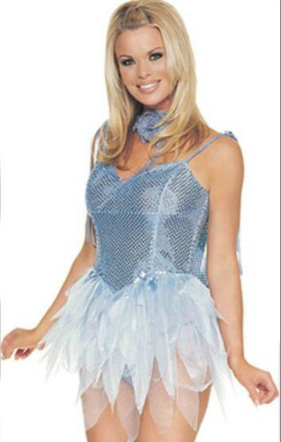 Fairy Blue Glitter Sm Adult Womens Costume