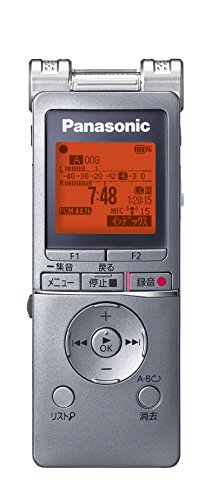 Panasonic ICレコーダー 4GB シルバー RR-XS460-S