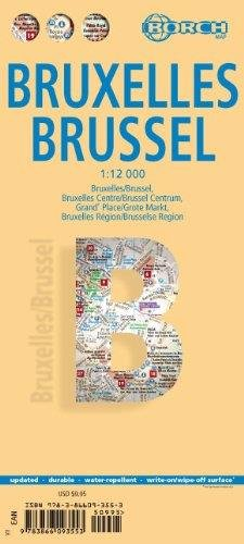 Laminated Brussels Map by Borch (English Edition) PDF