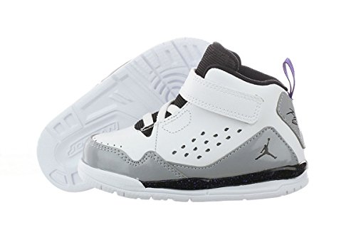 Jordan Unisex-Baby Jordan Sc-3 Bt Basketball Shoes, White, 10 M Us