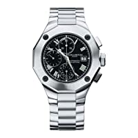 Baume & Mercier Men's 8669 Riviera Black Chronograph Watch from Bald Eagle Books