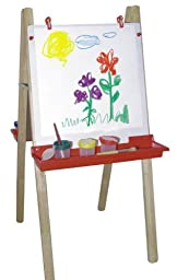 Childs Play Hardwood Basic Deluxe Easel, 43\