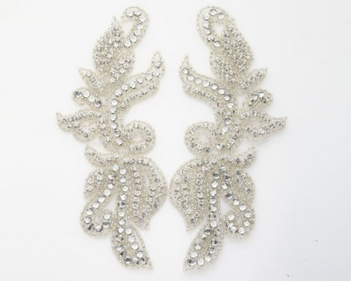 Silhouette Matching Rhinestone Applique By Shine Trim