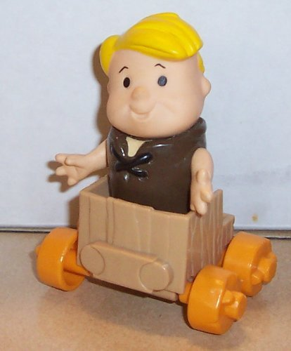 1986 Coleco Flintstone Kids Barney Rubble Figure