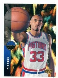 Grant Hill basketball card (Detroit Pistons) 1994 Upper Deck #157 Rookie Card by Hall of Fame Memorabilia