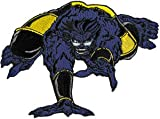 X-MAN Beast PATCH, Officially Licensed Marvel's Comic Superhero Iron-On / Sew-On, 4.25
