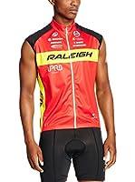 MOA Chaleco para Ciclismo Raleigh (Rojo / Amarillo)