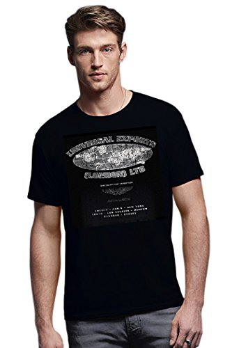 nerdoh-herren-t-shirt-schwarz-schwarz-xx-large