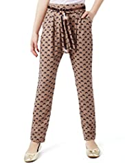 Autograph Cat Print Trousers