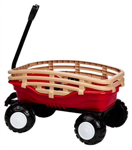 Wagons For Toys : American plastic toy deluxe runabout stake wagon toys