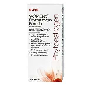 GNC Phyto-estrogen Formula 60 Softgels New Formula, New Look!