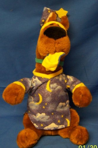 "8"" Tall Scooby Doo Nightshirt Plush - 1"