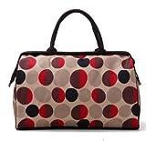 (エスプラスインポート)S.Plus Import バッグ ボストンバッグ 旅行バッグ トラベルバッグ デザイン レトロ おしゃれ 水玉