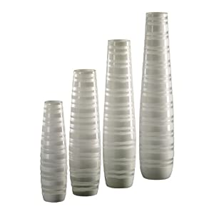 Walmart.com: Urban Trends White Ceramic Vase I in Matte: Decor