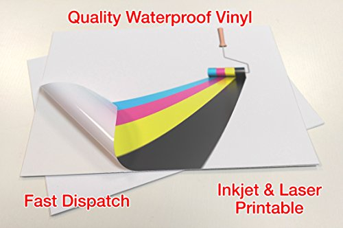 10-sheets-waterproof-a4-vinyl-matte-white-blank-self-adhesive-sticker-quality-inkjet-laser-printable