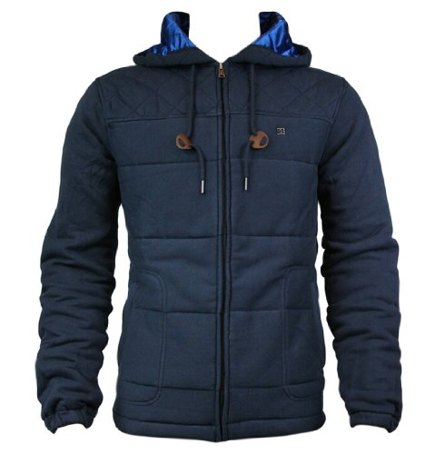 DC Men's Hunts Point Quilted Zip Hoodie - DC Navy (M)