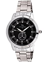 EFASHIONUP Black Dial Water Resistant Watch For Men-381