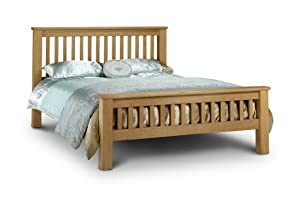 Amsterdam Oak, 6ft Super King Size, Contemporary High Quality OAK Wood Bed Frame