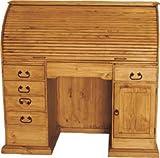 Sanfa Fe Wood Roll Top Desk