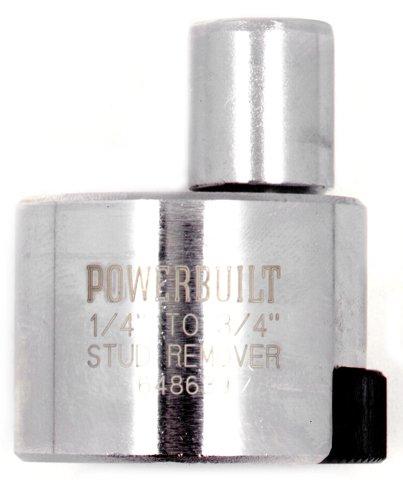 """Powerbuilt 648639 1/4"""" to 3/4"""" Stud Extractor"""