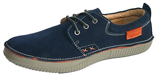 Shoreside-Casual-Trainer-Style-Suede-Leather-Boat-Sailing-Deck-Shoes-Sizes-7-11