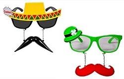 Funcart Couple Sunglasses (pack of 2)