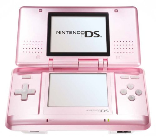 Pink Handheld Console (Nintendo DS)
