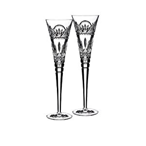 Jim O'Leary Lismore Celebrations Champagne Flute (Set of 2)