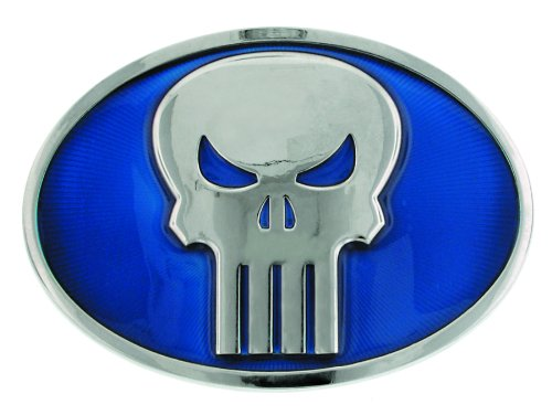 Jewel M Punisher Symbol Belt Buckle