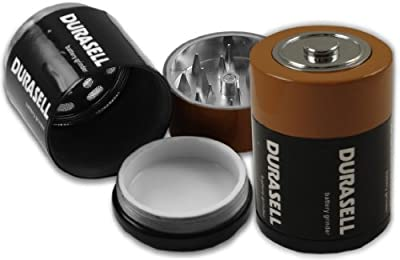 Jumbo Battery Diversion Herb Grinder #11 by BeWild
