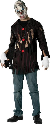 Scary Clown Boys Costume - Medium