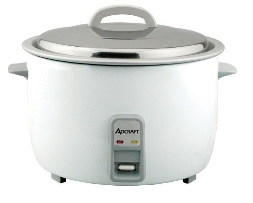 Adcraft Countertop Heavy Duty Rice Cooker with Stainless Steel Lid, 25 Cup Capacity -- 1 each. (Rice Counter compare prices)