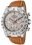 Men's Daytona Automatic Chronograph Meteorite Dial Light Brown Genuine Leather