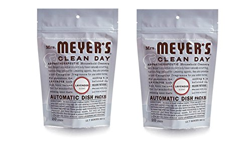 Mrs. Meyer's Clean Day Dishwasher Detergent Soap Packs (Pack of 2) (Meyers Dishwasher Packs compare prices)