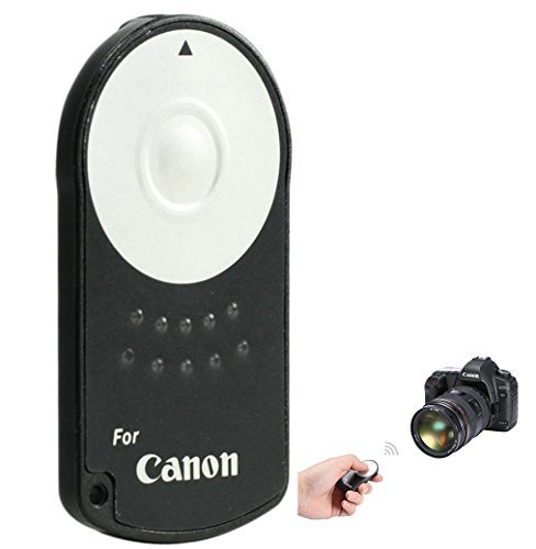 Cam.Inn Timer Remote Control IR Wireless Shutter Release for Canon EOS 5D Mark II III EOS 7D 550D 500D 450D 60D 650D Camera Accessories  available at amazon for Rs.1499