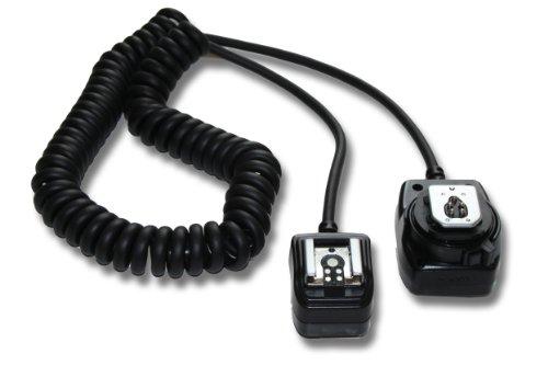 vhbw câble flash TTL pour appareil photo Canon EOS M, 1D Mark II, 1D Mark III, 5D Mark II, 6D, 7D, 20D, 30D, 40D, 50D, 60D, 100D, 400D, 600D et OC-E3