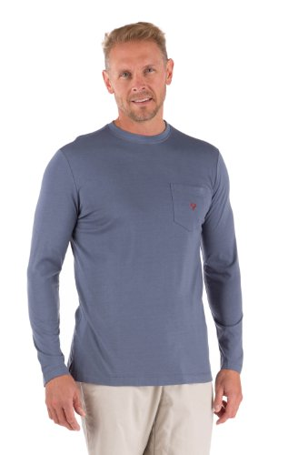 Men'S Bamboo Long Sleeve Shirt Valentine Gifts For Men Brother Him Mb1102-Qtz-Xl front-950068
