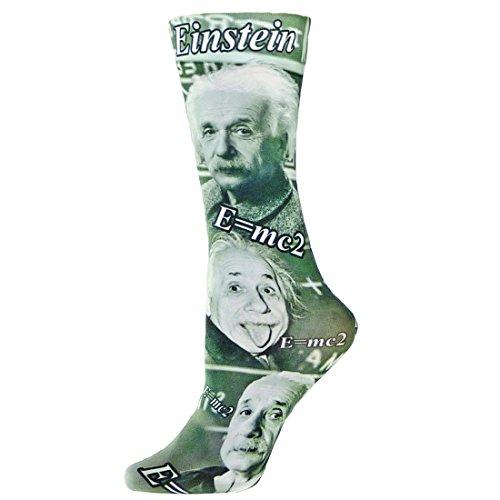nouvella Sublimation Trouser Womens Socks ( Einstein - Medium )